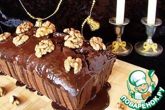 Шоколадный кекс с пивом
