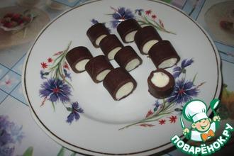 Конфеты творожно-кокосовые