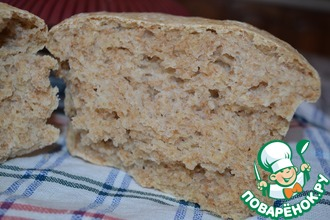 Отрубной хлеб на закваске