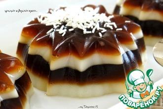 Нежный кофейно-ванильный десерт