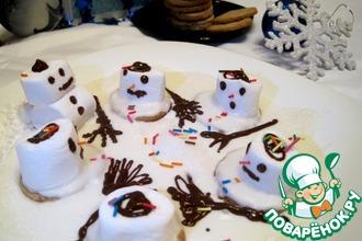 """Печенье """"Тающие снеговики"""""""