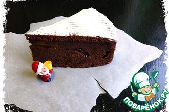 """Шоколадный пирог """"Королевская слива"""""""