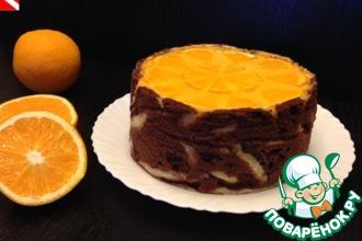 """Торт """"Апельсиновая мечта"""""""