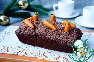 Морковно-гречневый кекс