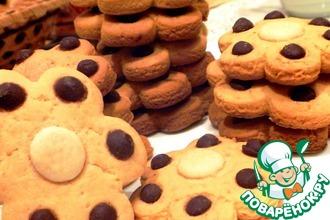 Печенье кукурузное с шоколадом
