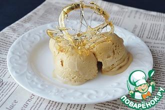 Мороженое с соленой карамелью
