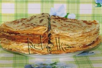 Сырные блины с луковым припeком