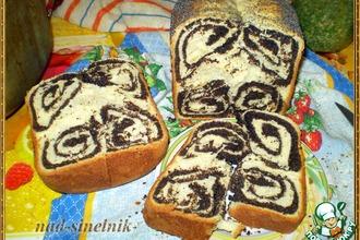 Рулеты с маком из хлебопечки