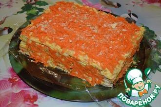"""Рыбный пирог """"Оранжевое настроение"""""""