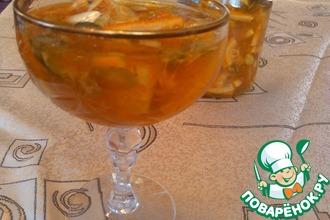 Апельсиново-лимонное варенье с тыквенными семечками
