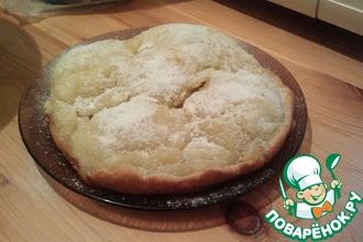 """Пирог с яблоками """"Неженка"""""""