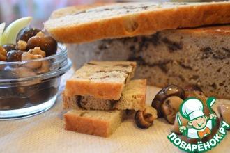 Хлеб с сушеными грибами