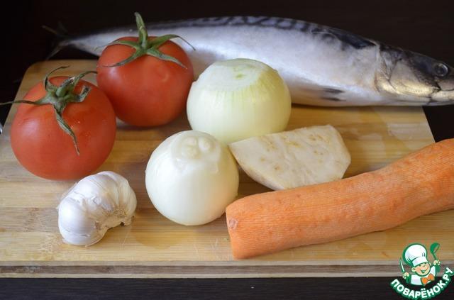 Морковь, лук, сельдерей, чеснок почистить.