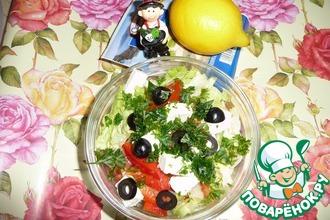"Салат ""Айсберг"" с овощами"