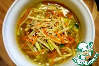 Густой рисовый суп по-китайски