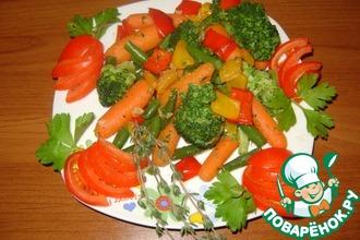 Яркий овощной гарнир