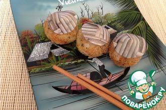 Острые рисово-сырные шарики
