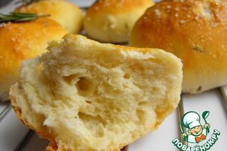Хлебные булочки с розмарином