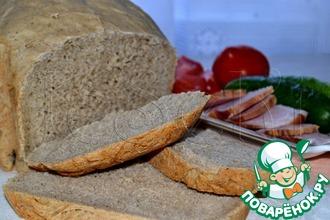 Итальянский хлеб из Апулии в хлебопечке
