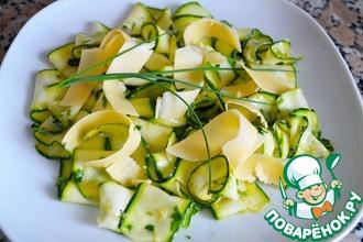 Салат из цуккини с лимоном и тимьяном