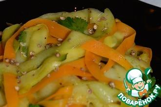 Овощные папарделли в азиатском стиле