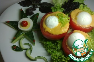 Яйца в помидорах (по-португальски)
