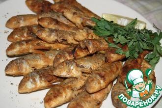 Жареная барабулька (султанка)