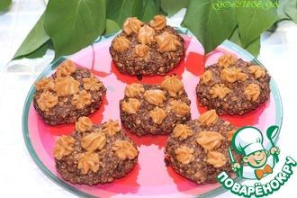 Шоколадно-овсяное печенье за 5 минут