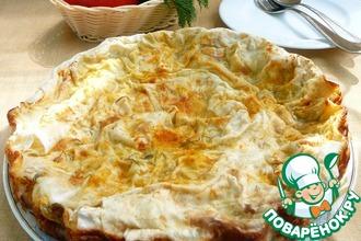 Пирог овощной в лаваше