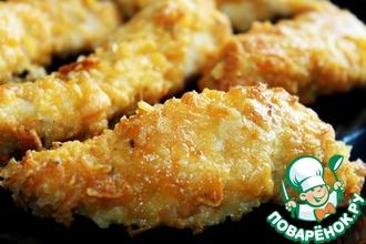 Курица в панировке из чипсов