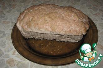"""Мясной хлеб """"Большая котлета"""""""