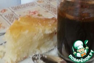"Сладкий манный пирог ""ариса"""