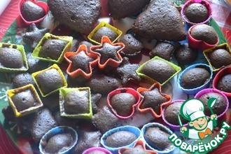 Классические шоколадные кексики (+рецепт крема)
