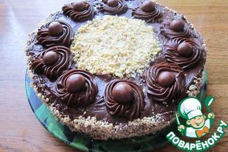 """Шоколадно-ореховый торт """"Деметра"""""""