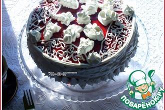 Торт с карамельным кремом для папы