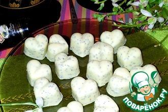 Конфеты из белого шоколада с маком и клюквой