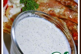 Белый соус для барбекю и шашлыков