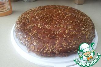 Сладкий пирог с кленовым сиропом