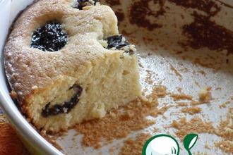 """Бретонский пирог с черносливом """"Осеннее утро"""""""