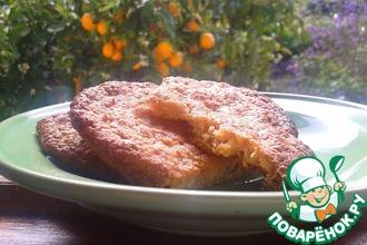 Овсяное апельсиновое печенье