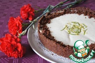 Двухслойный цитрусовый тарт