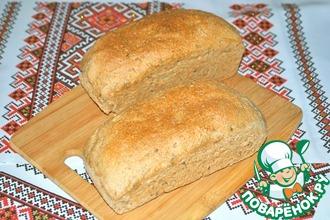 Мой цельнозерновой хлеб