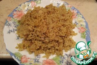 Рассыпчатый рис с курицей (почти ризотто)