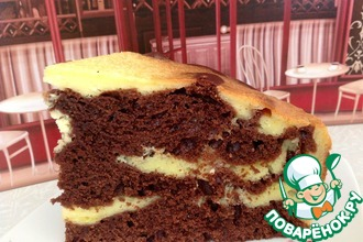 """Шоколадно-творожный пирог """" Чудо"""""""
