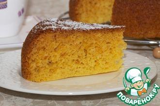Медово-кукурузный пирог
