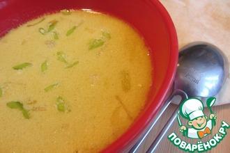 Пряный бархатный куриный суп