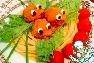 Тефтельки «Сказочные» в сливочно-томатном соусе