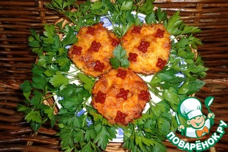 Мясо, запеченное с яблоками под молочно-соевым соусом