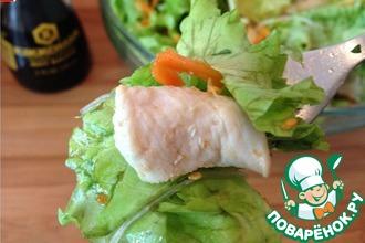 Китайский салат с курицей