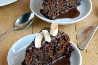 Шоколадный пирог с перчинкой (постный)